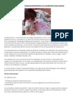 Técnicas para trabajar la psicomotricidad fina y la coordinación óculo