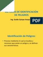 Presentación N ° 5  METODOS DE IDENTIFICACIÓN DE PELIGROS