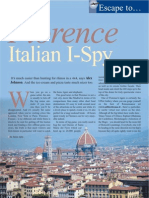 The Travel & Leisure Magazine Florence Feature