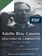 Bioy Casares, Adolfo - Descanso de Caminantes