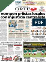 Periodico Norte de Ciudad Juarez 2 de Noviembre de 2013