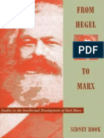 Hook, From Hegel to Marx