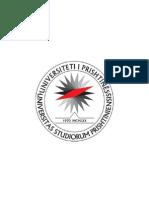 Monografia e Universitetit të Prishtinës