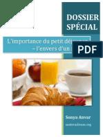 Dossier-Spécial petit déj