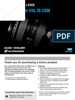 Canon EF 24 105mm f 4 L is USM Lens