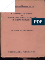 A Comparitive Study of The Concepts of Space and Time in Indian Thoughts - Kishor Kumar Mandal