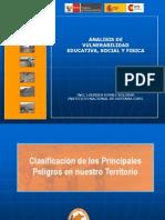 Analisis de Vulnerabilidad Educativa, Social, Física  (Setiembre 2009)