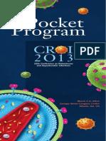 Croi 2013 Pocket Program