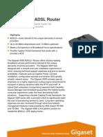 Gigaset 4300 ADSL Router