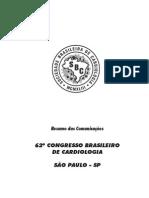 62 Congresso Brasileiro de Cardiologia