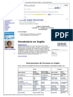 Descripciones de Personas en Inglés - Cursos de Inglés Gratis.pdf