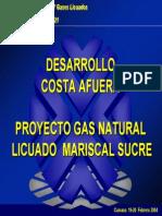 Desarrollocosta Afuera - Proyecto Gasnatural - Pdvsa