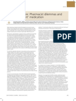 Residential Care Pharmacist dilemmas and issues of 'covert' medication