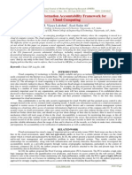 A Novel Information Accountability Framework for Cloud Computing