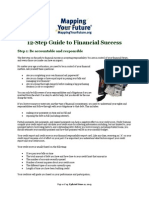 12 steps to financial success