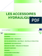 Accessoires hydrauliques