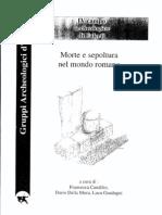 Morte e Sepoltura Nel Mondo Romano