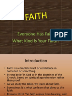 Bible Lesson on Faith