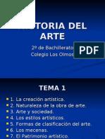 HISTORIA DEL ARTE 1 (introducción)