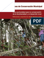 Areas de Conservacion Municipal GTZ Octubre 2010