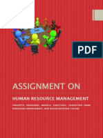 Human Resource Management, Strategic HRM, Personnel Management