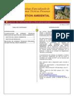 NTP Catálogo Normas de Medio Ambiente