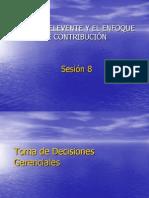 SESION - 8 - COSTOS RELEVANTES
