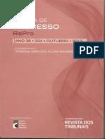LITIGÂNCIA DE INTERESSE PÚBLICO E EXECUÇÃO COMPARTICIPADA DE POLÍTICAS PÚBLICAS - Humberto Theodoro Jr., Dierle Nunes; Alexandre Bahia