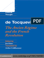 Alexis de Tocqueville (author), Jon Elster (editor), Arthur Goldhammer (translator) Tocqueville_ The Ancien Régime and the French Revolution (Cambridge Texts in the History of Political Thought)  2011.pdf