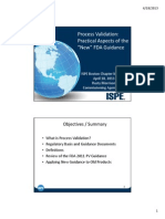 process validation - practicle aspects - ISPE.pdf