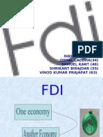 FDI, Vinod