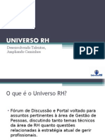 Apresentação Universo RH - versão XP