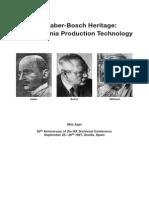 HABER Ammonia Technology