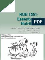 1. Essentials of Nutrition
