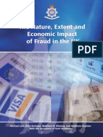 ACPO Final Nature Extent and Economic Impact of Fraud