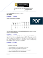 Progress Test 2 2012 Solutions