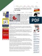 SiteBarra » Governo do ES abre inscrições para três mil vagas de estágio