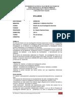 2013-I - 91010 - (00.FS) Diseno de Una Inv. Doctoral, Dr. Ramirez E