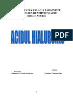 Acidul Hialuronic proiect