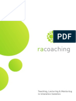 RA-Coaching Courses and Mentoring Brochure November 2014 onwards