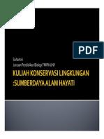 Konservasi Lingkungan [Compatibility Mode]