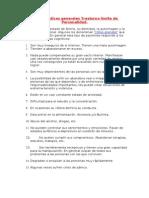 Características generales Trastorno límite de Personalidad