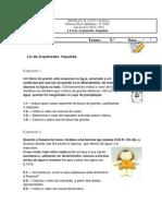 Ficha 9 Elvas -Arquimedes e Impulsao