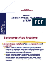 2013-Topic2-EAP Epsitemology-I.ppt