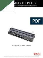Hp Ljp1102 Toner Refill Cart