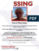 Carol Sheridan - Missing Abroad