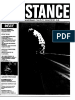 Resistance - Number 15 - Summer/Fall - 1991