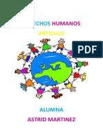 Articulo Derechos Humanos
