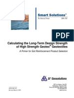LTDS of geotextiles