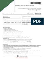 Prova Consultor Legisl A01 Tipo 001